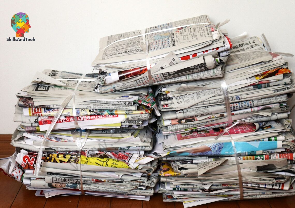 How To Start Paper Recycling Business In India| SkillsAndTech